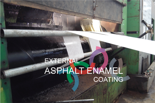 External Asphalt Enamel Coating
